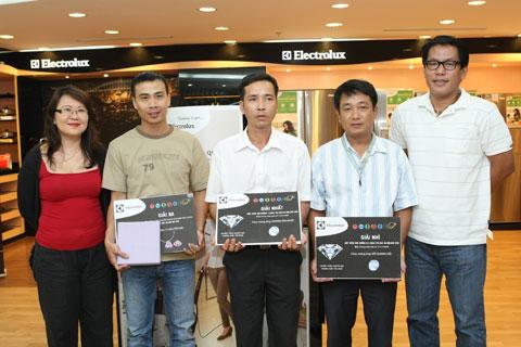 Electrolux tri ân khách hàng