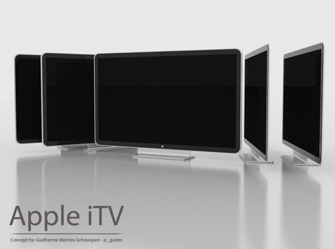 Concept, Apple, iTV, iOS, Airplay, Siri Control, Guilherme M.Schasiepen, Schasiepen