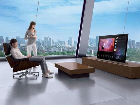 sony, HDTV, chiến lược kinh doanh 2012