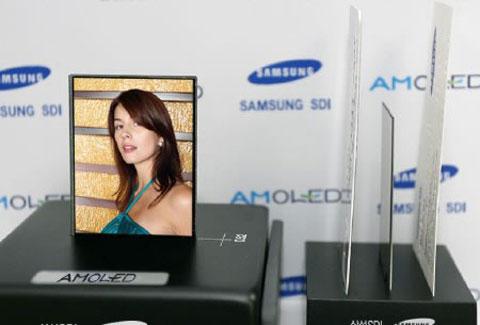 HDTV, Samsung, LCD, OLED, 6 tỷ USD cho màn hình OLED