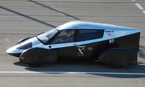 Edison2, VLC, Very Light Car, siều nhẹ