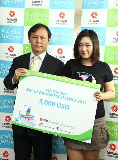 TAITRA, taiwan excellence, BOFT, IT Travelers Go, Nguyễn Thị Liền Hương, đại sứ