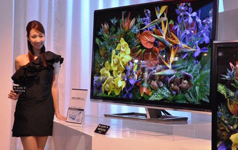 3D, HDTV, LED nền, Toshiba, 3D không kính, Cevo, Regza 55X3, ZL2