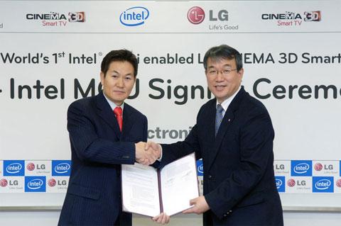 HDTV, LG, 2012, Intel WiDi, Wireless Display