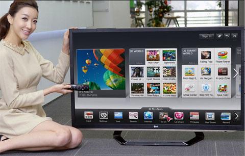 3D, HDTV, LG, SmartTV, TV3D Cinema, FPR, 2012, nâng cấp