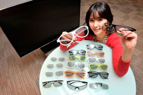 3D, HDTV, FPR, LG, F310, F320, F360, kính 3D, những người có tật về mắt