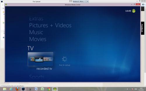 DVD, Windows 8