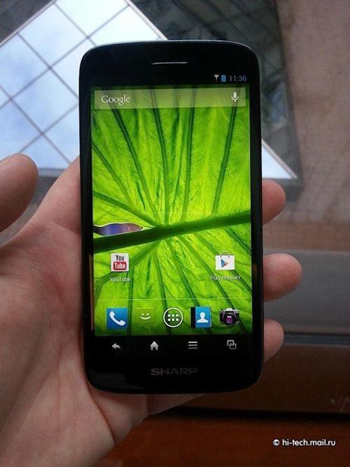 smartphone, Sharp Aquos SH930W, HTC