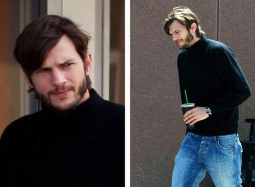 Steve Jobs, Ashton Kutcher,  huyen thoai Steve Jobs