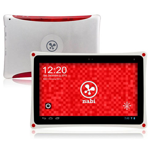 Tablet Nabi XD, tablet Android