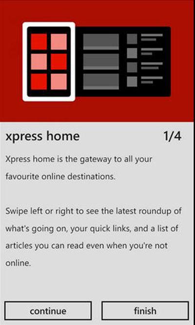 Nokia, Nokia Xpress, Windows Phone