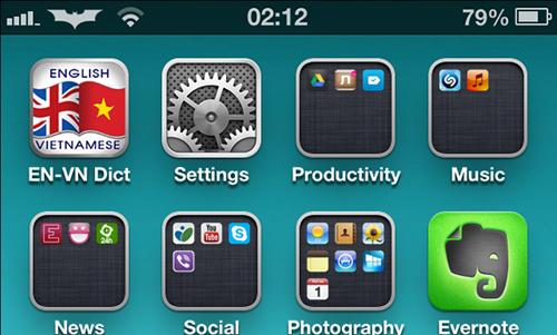 Thu thuat, logo, apple, iphone