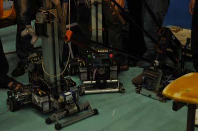 Robot của ĐHSPKT Hưng Yền