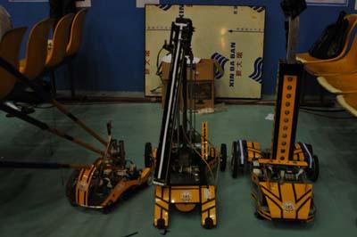 Robot của CĐ CKLK Thái Nguyền