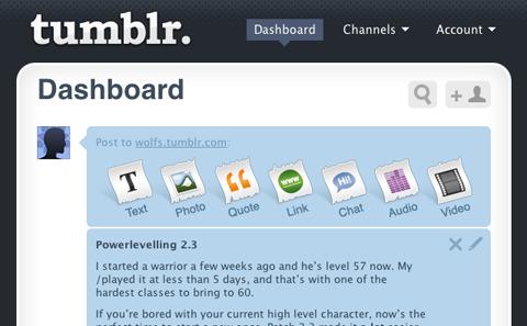 Sự lớn mạnh không ngừng của Tumblr đe doạ đến ngôi vị số một của Facebook.