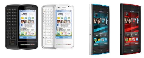 Nokia C6 Nokia X6