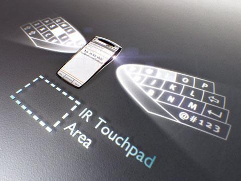 Concept seabird phone