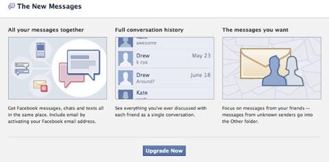 Facebook Messgae