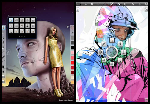 iPad, Apple, iPhone, App-Store, AudioNote, Sketchbook Pro, Star Walk, White Noise Pro, Mind Node