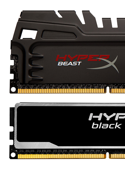 Kingston, Kingston Technology, HyperX Beast, HyperX Black, PR-news
