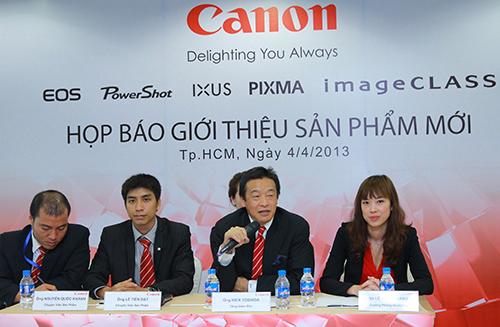 Canon, Vietnam International Digital Photo & Sign Show 2013, DSLR, EOS 700D, EOS 100D, PowerShot SX280 HS, PowerShot SX275 HS, PowerShot SX270HS, PowerShot N, PowerShot A3500 IS, PowerShot A2600, PowerShot A2500, IXUS, IXUS 255 HS, IXUS 140, IXUS 135, IXUS 132, LaserShot LBP7780Cx, LBP7100Cn, ImageCLASS MF4890dw, MF4870dn, MF4750, MF4820d, MF4720w