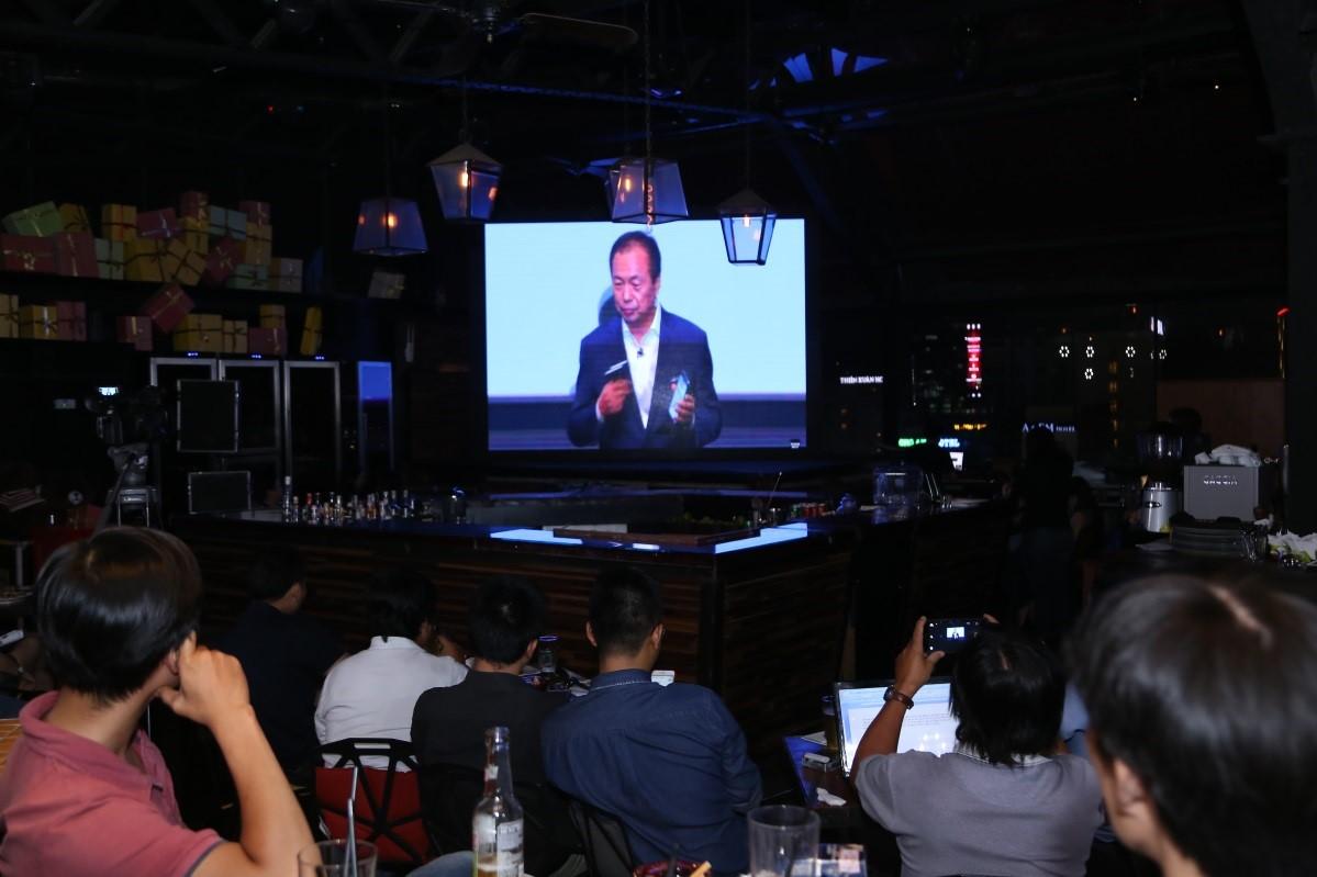 Sự kiện ra mắt Samsung Galaxy: Hấp dẫn như một trận cầu