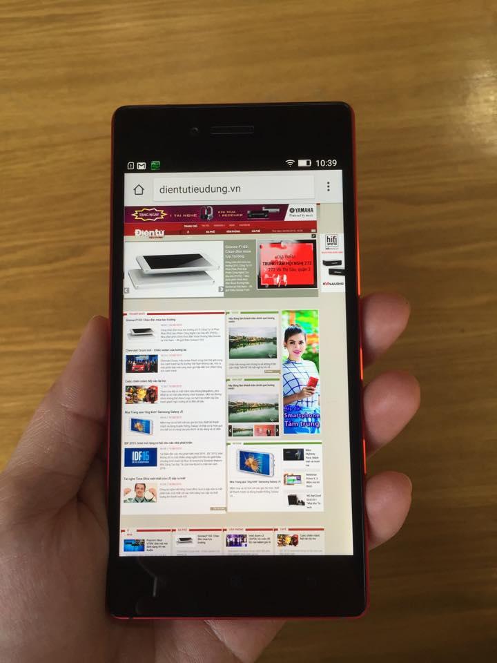 Lenovo VIBE Shot: Smartphone thời trang, chụp hình tốt