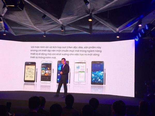 Samsung Galaxy Note 5 chính thức ra mắt tại Việt Nam