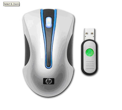 HP Wireless Optical Mobile Mouse