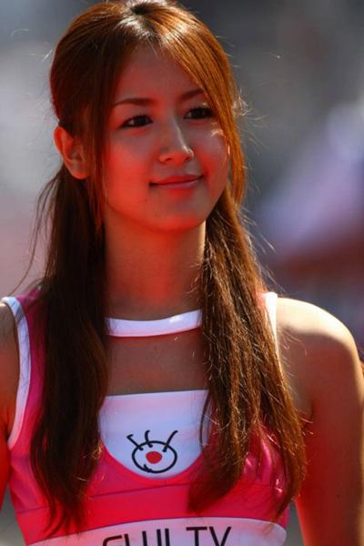 F1 Suzuka GP Girl