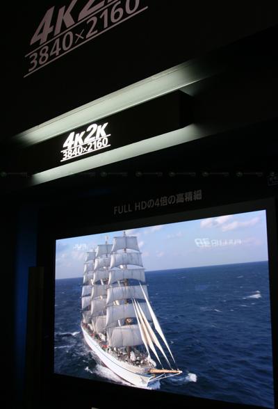 Panasonic 4K2K HDTV