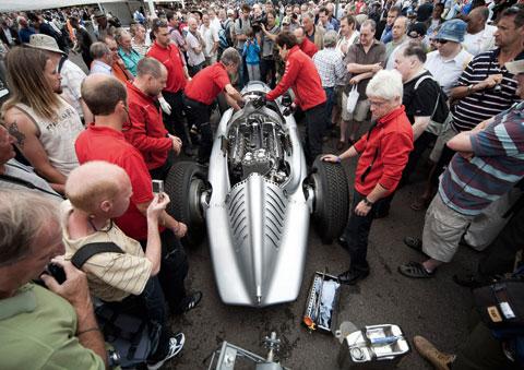 Chiếc xe đã đạt rất nhiều giải thưởng trong những cuộc đua