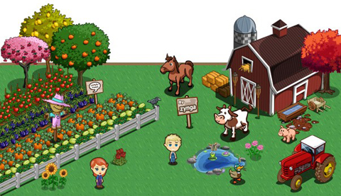 apple iphone ipad farmville