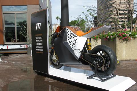 Mission One mô tô điện siều tốc