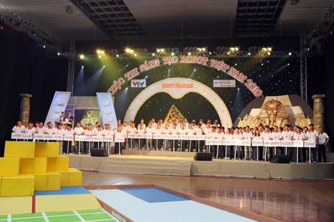 Chung kết cuộc thi sáng tạo robot Việt Nam 2010