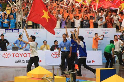 robocon vietnam 2010 chungket