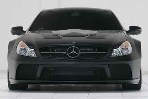 Brabus Mercedesc SL 65 Black