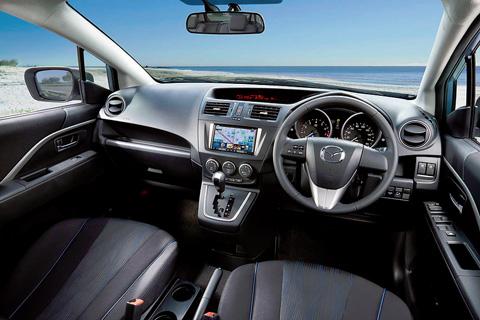 Ghế lái thoải mái, tầm quan sát tốt (Ảnh: Mazda)