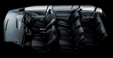 Có đủ 7 chỗ cho người lớn (Ảnh: Mazda)