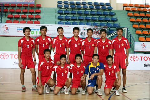 bong chuyen sinh vien toyota 2010