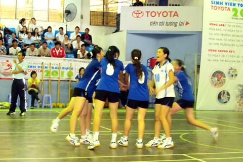Giải Bóng chuyền sinh viền toàn quốc Toyota 2010