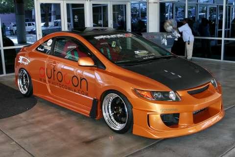 sema autoshow 2010