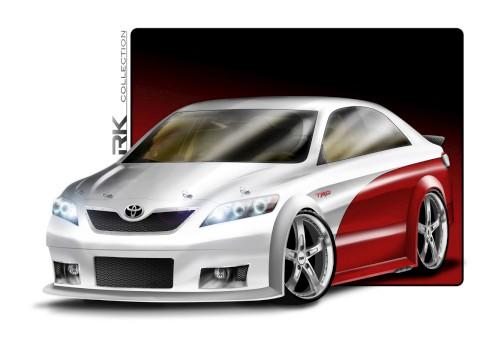 Toyota concept sema 2010