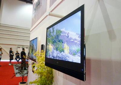 JVC LT-32WX50 được trưng bày tại CEDIA 2009