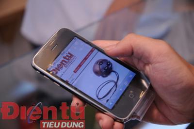 ĐTTD thử nghiệm iPhone 3GS