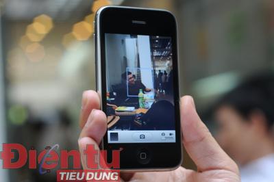 Camera 3.2 Megapixel của iPhone 3GS