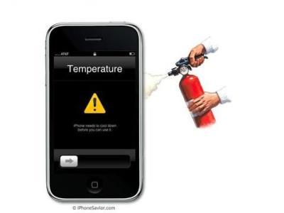 iPhone 3GS có quá nóng? Ảnh: iPhone Savior