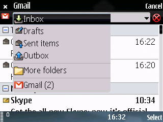 Mail Box mới của E75