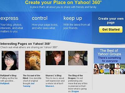 Yahoo 360 đóng cửa