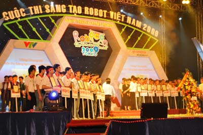 Lễ khai mạc VCK Robocon 2009